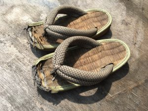 息子の草履